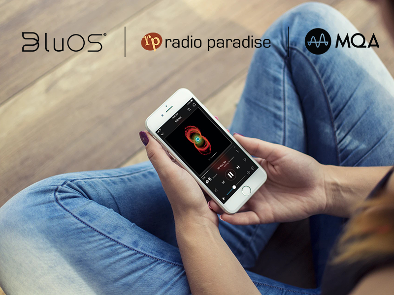 Radio Paradise MQA Audio Coming Exclusively to BluOS Players